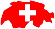 スイス地図