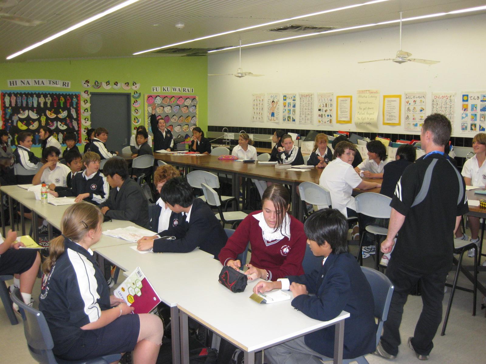 地元オージー学生と一緒に過ごそう 中学・高校体験留学・オーストラリア現地校体験プログラム