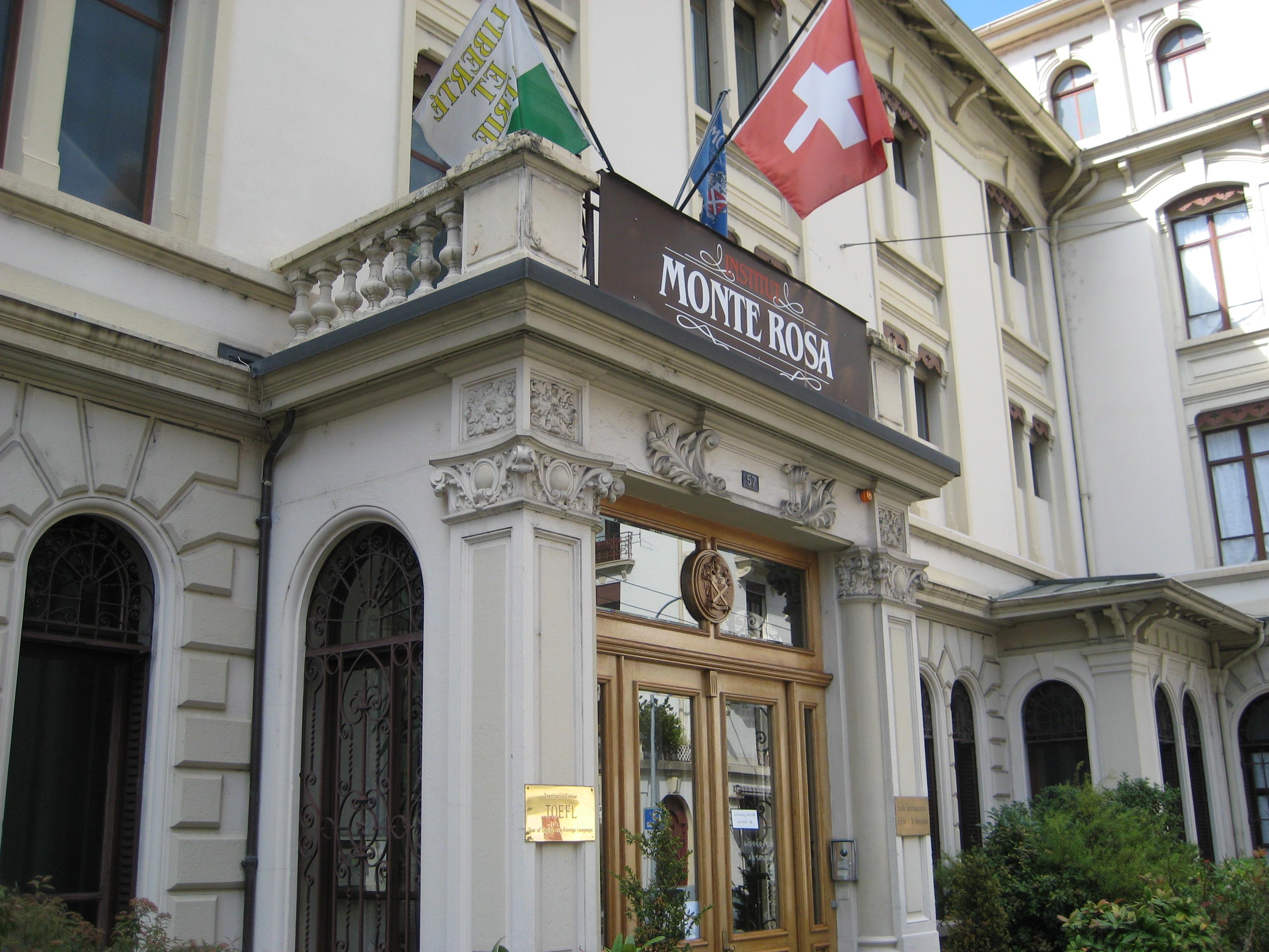 スイスのボーディングスクールに滞在 Institut Monte Rosa